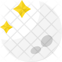 Night Clear Moon Icon