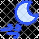Night Moon Wind Icon