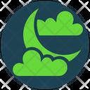 Halloween Sky Moon Icon