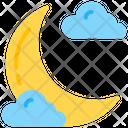Night Half Moon Moon Phase Icon