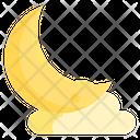 Moon Moon Night Planet Icon
