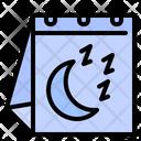 Sleep Night Moon Icon