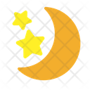 Forecast Moon Night Icon