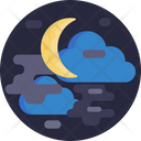 Night Moon Climate Icon