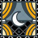 Rest Night Moon Icon