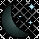 Night Moonlight Landscape Icon