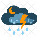 Night Cloud Show Icon