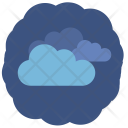 Night Strong Clouds Icon