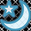 Night Moon Star Icon