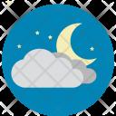 Moon Cloud Night Icon