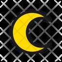 Night Moon Crescent Icon
