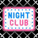 Night Club Color Icon