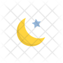 Moon Star Night Icon