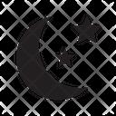 Night Dark Darkness Icon