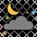 Night Moon Weather Icon