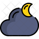 Night Weather Climat Icon