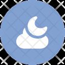 Night Moon Evening Icon