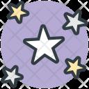 Night Stars Sky Icon