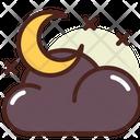Night Cloud Icon
