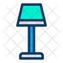 Lamp Bedside Furniture Icon
