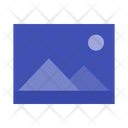 Night Landscape Icon