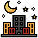 Night Life Night Urban Icon