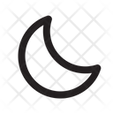 Ui Web Moon Icon