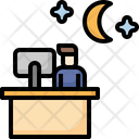 Night office Icon