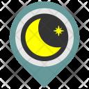 Night Place Sleep Icon