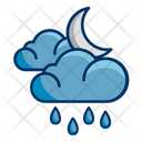 Weather Rain Cloud Icon