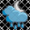 Weather Rain Clouds Icon