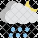 Night Raining Icon