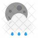 Night Rainy Night Rain Rain Icon