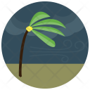 Palm Tree Weather Icon