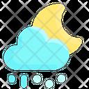 Rain Snow Cloud Icon