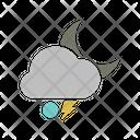 Night Snowball Lightning Icon