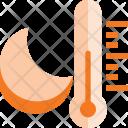 Night Temperature Weather Icon
