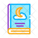 Night Story Book Icon