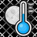 Night Temperature Cold Temprature Cold Icon