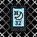 Night Temprature Icon