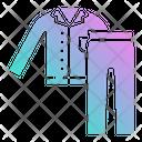 Night Wear Night Cloth Pyjamas Icon
