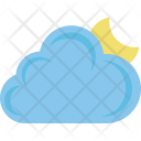 Night Weather Cloudy Icon
