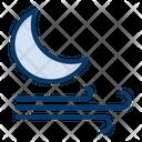 Night Wind Windy Icon