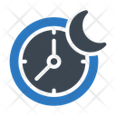 Night Working Time Icon