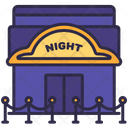 Building Nightclub Structure Icon