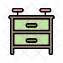 Nightstand Nightstand Furniture Households Icon