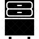 Nightstand Closet Furniture Icon