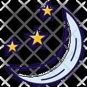 Night Nighttime Night Sky Icon
