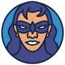 Nightwing Warrior Superhero Icon