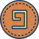 Nine Number Count Icon